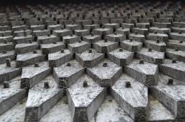 Up-close shingles