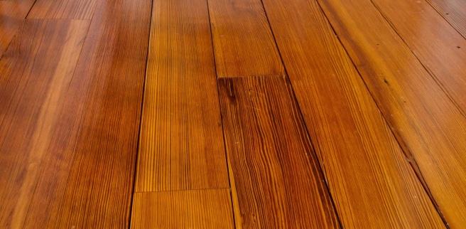 Quartersawn Longleaf Pine Floor