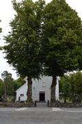 Front view of the church.