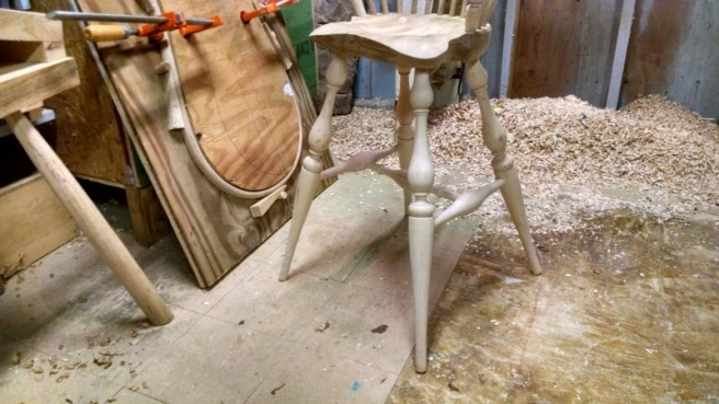 Tippy toes windsor chair