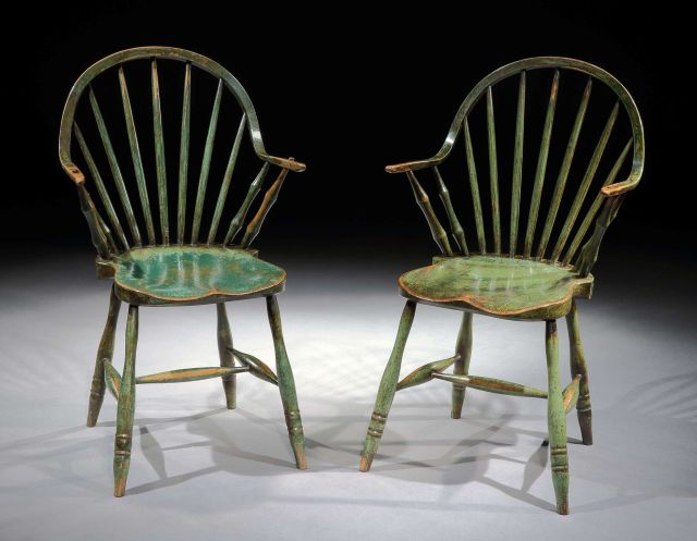 These chairs were recently sold at auction being described as u201cIconic Pair of u0027Yealmptonu0027 Continuous Arm Windsor Chairsu201d. I must thank the pseudonymous u201c ... & The American Myth of the Continuous-Arm Chair | A Riving Home